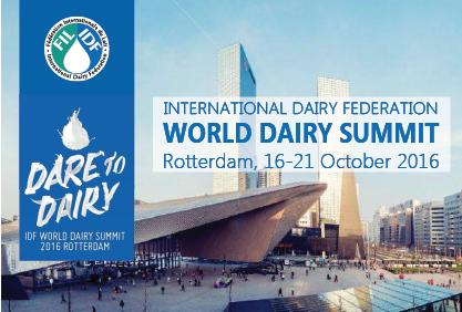 Dünya Süt Zirvesi Sunuları – 2016 Hollanda