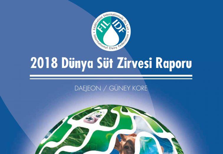 2018 Dünya Süt Zirvesi Raporu